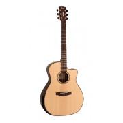 GA-PF-Bevel-NAT Grand Regal Series Электро-акустическая гитара с вырезом, Cort