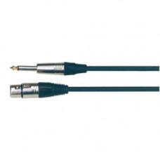 Кабель Soundking микрофонный XLR, jack 6,3, 5м. (BB006-5М)