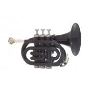 JP159B Труба Bb компактная, черная, лаковое покрытие, John Packer
