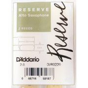 DJR0220 Reserve Трости для саксофона альт, размер 2.0, 2шт., Rico