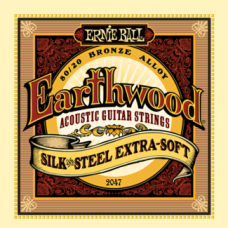 Струны Ernie Ball Earthwood Silk&Steel Acoustic 10-50 (2047)