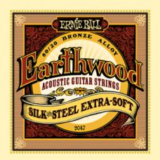 Струны Ernie Ball Earthwood Silk&Steel Acoustic 10-50 (2047)