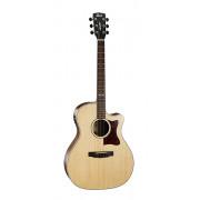 GA5F-MD-NAT Grand Regal Series Электро-акустическая гитара, с вырезом, цвет натуральный, Cort
