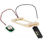 SH-HB-T-TR-C E-Tuner Тюнер — рамка хамбакера, для электрогитар с тремоло, кремовый, Shadow