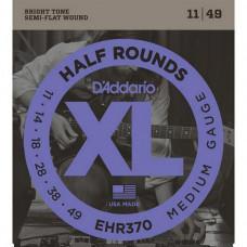 Струны D'Addario Half-Rounds 11-49 (EHR370)