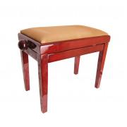 HY-PJ018B-GLOSS-DARK-MAHO Банкетка, темное красное дерево/коричневый, Rin