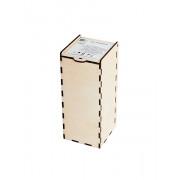 GH-BOXM Коробочка для хрустального колокольчика, средняя, Гусь Хрустальный