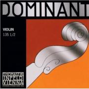 135-1/2 Dominant Комплект струн для скрипки размером 1/2, среднее натяжение, Thomastik
