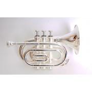 JP159S Труба Bb компактная, посеребренная, John Packer