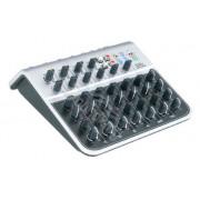 MIX04A Мини-микшерный пульт, 8 каналов, Soundking