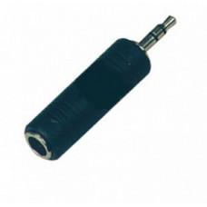 Переходник Soundking стерео, Male 3,5мм на Female 6,35мм (CC321)