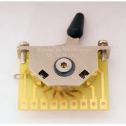 15310005 Megaswitch E+ Переключатель 5-ти позиционный, универсальный, никель, Schaller