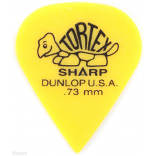 Медиатор Dunlop Tortex Sharp желтый 0.73мм