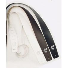 Ремень для гитары GHS A10 GTR Strp Leather White белый