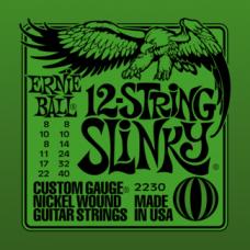 Струны Ernie Ball Slinky 12-String 8-40 (2230)
