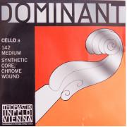 142 Dominant Отдельная струна А/Ля для виолончели размером 4/4, Thomastik