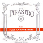 342020 Flat-Chromesteel ORCHESTRA Комплект струн для контрабаса размером 3/4, Pirastro