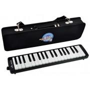 SW37J-3-BK Мелодика 37 клавиш, жесткий чехол, Swan