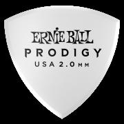 Медиатор Ernie Ball Prodigy, 2 мм, белый (P09338)