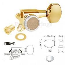 Колки запирающие Gotoh SG381-07L-MGT 6-L Золото