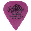 Медиатор Dunlop Tortex Sharp фиолетовый 1.14мм. (412R1.14)