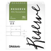 DJR1025 Reserve Трости для саксофона альт, размер 2.5, 10шт., Rico