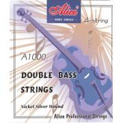 A1000-4/4 Комплект струн для контрабаса. Alice