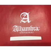 9.658 Порожек нижний для классической гитары, кость, Alhambra