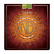 NBM11541 Nickel Bronze Комплект струн для мандолины, фосф/бронза, Medium-Heavy, 11.5-41, D'Addario
