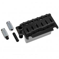 Бридж тремоло Gotoh 510TS-FE1, стальной сустейн блок, стальные седла, Черный