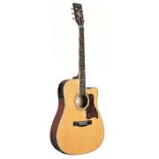 Электроакустическая гитара Caraya, цвет натуральный (F750CEQ)