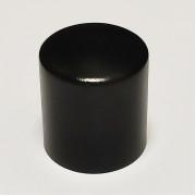 Ручка регулировки Parts, алюминиевая, черная, гладкая (KKN01BK)
