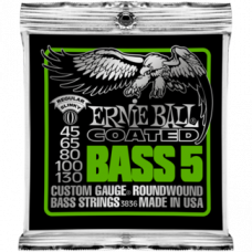 Струны Ernie Ball Coated Slinky Bass 5-string 45-130 (3836)