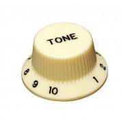 KI-240T Ручка потенциометра, Tone, кремовый, метрическая, Hosco