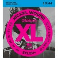 Струны D'Addario Nickel Wound 9.5-44 (EXL120+)