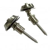 Стреплоки Dunlop Straplok Flush, никелированное, 2шт (SLS1401N)