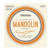 EJM75C Monel Комплект струн для мандолины, 11-41, монель-металл, D'Addario