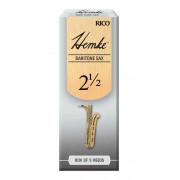 RHKP5BSX250 Hemke Трости для саксофона баритон, размер 2.5, 5шт, Rico