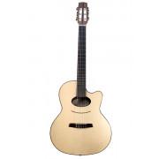 Daimen Performer Series Классическая гитара со звукоснимателем, с вырезом, размер 4/4, Kremona
