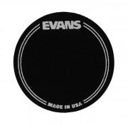 EQPB1 EQ Наклейка на рабочий пластик бас-барабана, черная, одиночная педаль, Evans