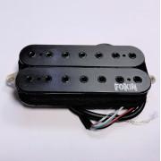 Звукосниматель для 7-ми струнной гитары Fokin Majestic 7, бриджевый, брашированый чёрный
