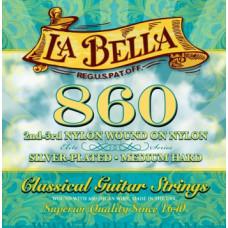 Струны LaBella Silver Plated Classic Hard (860)