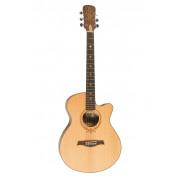 Акустическая гитара Excalibur полноразмерная цвет натуральный (EF(CF)-320SJC)