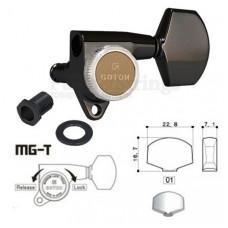 Колки запирающие Gotoh SG301-01-MGT 3L-3R Черный
