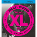 Струны D'Addario Nickel Wound Bass 45-100 (EXL170 XL)