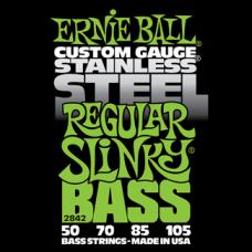 Струны Ernie Ball Stainless Steel Regular Slinky Bass 50-105 (2842)