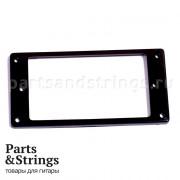 Рамка хамбакера Parts, 1 шт, черная (01FR)