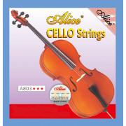 A803-1 Отдельная струна А/Ля для виолончели размером 4/4, Alice