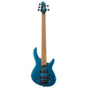 B5-Plus-AS-RM-OPAB Artisan Series Бас-гитара 5-струнная, синяя, Cort