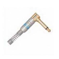 Штекер на кабель LEEM Male 6,35мм, моно, угловой (6CHL)